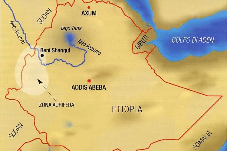 Mappa Beni Shangul